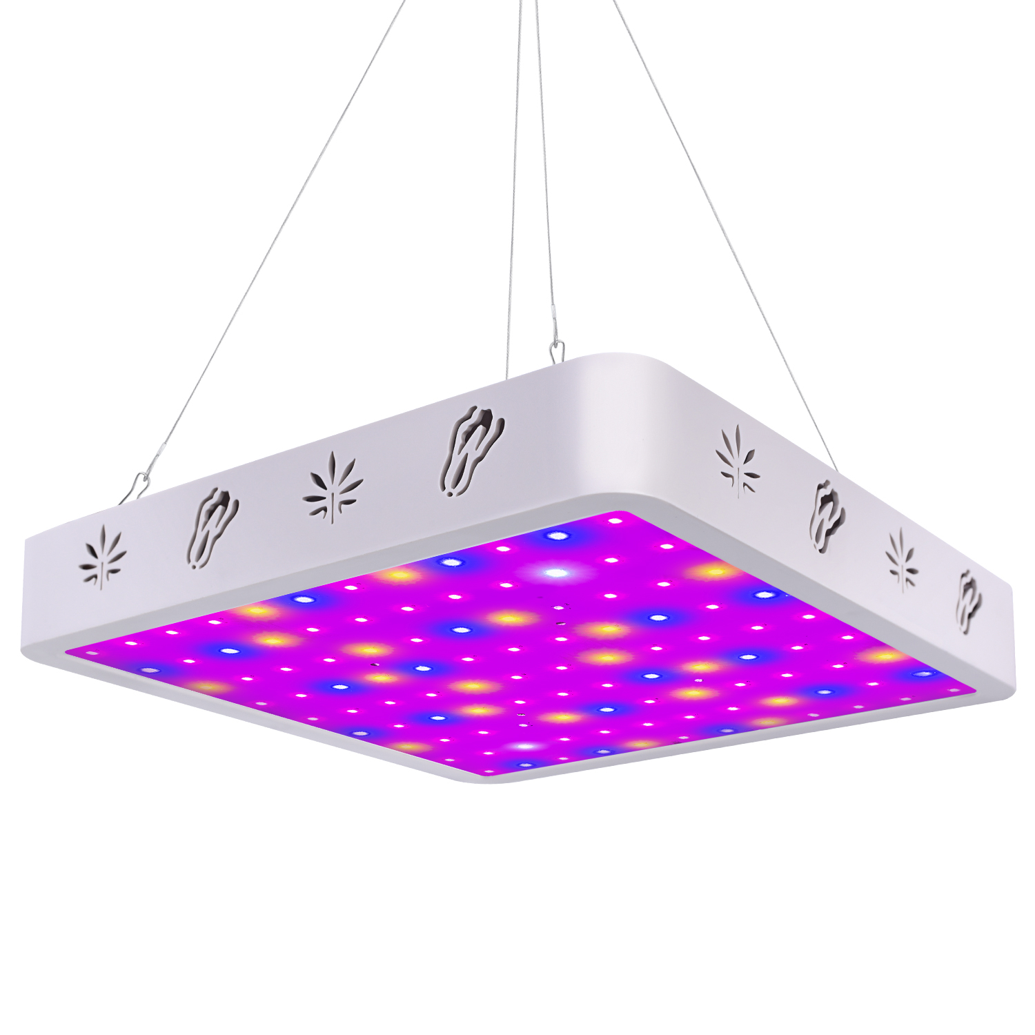Details about V99GROW 1000W LED Grow Light Panel Lamp Full Spectrum  Hydroponic Plant Growing G