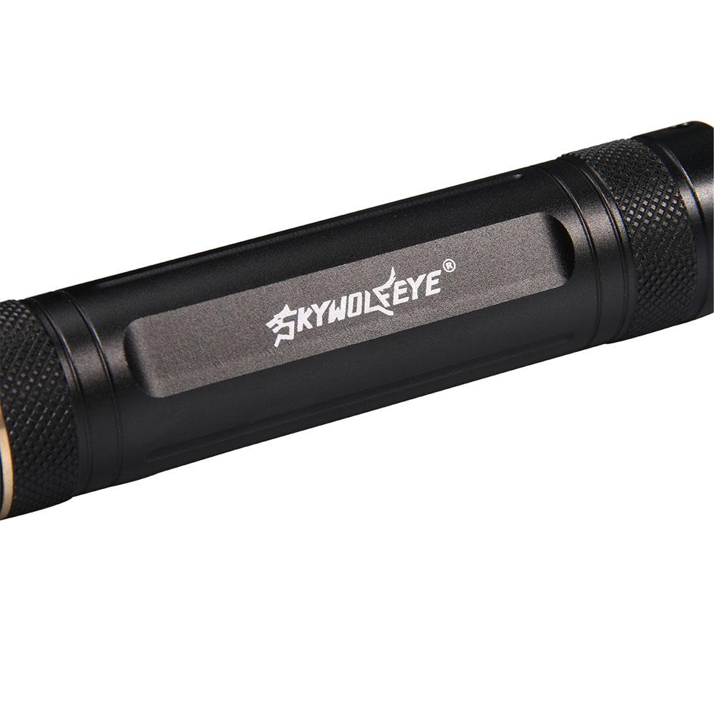 Brighter Aluminum Exquisite Torch 365nm Violet light Flashlight Lamp Functional