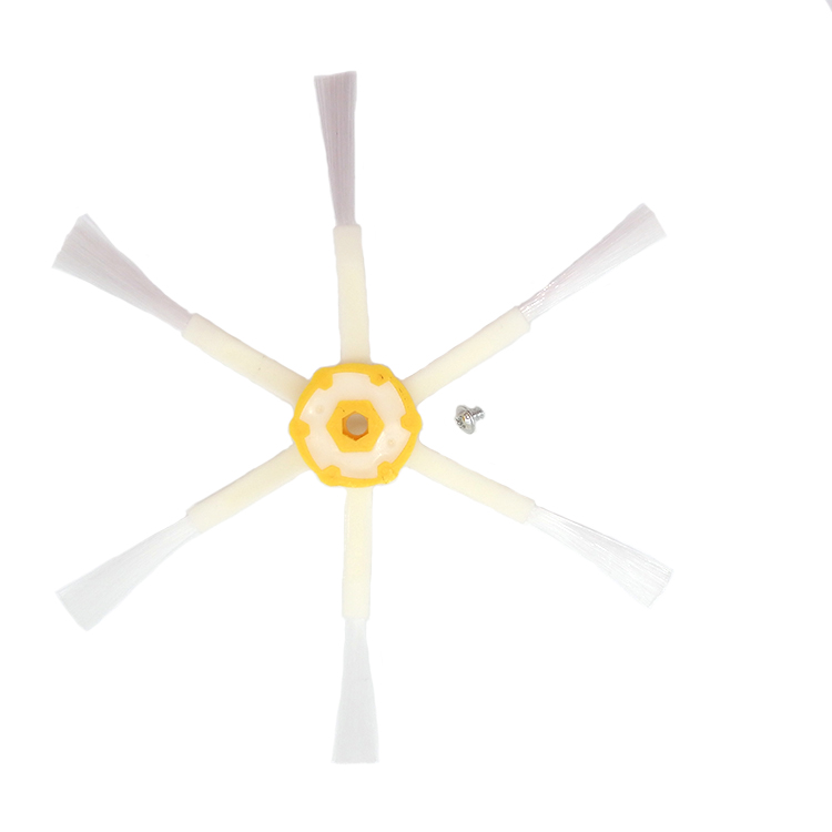 1pcs Side Brush 6 Armed Replacement for iRobot Roomba Vacuum 681 690 700 760