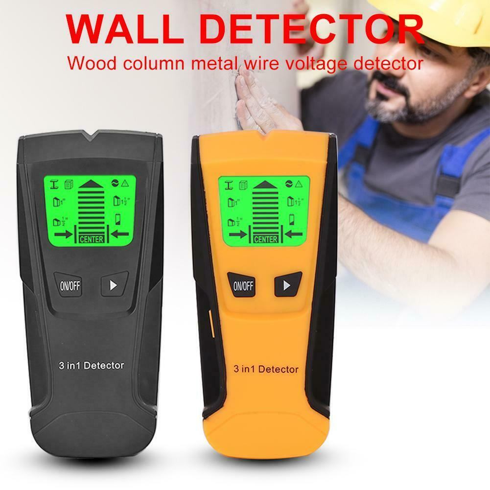 Details about 3 In 1 Electric Wall Detector Find Metal Wood Stud AC Live  Wire Detect Scanner