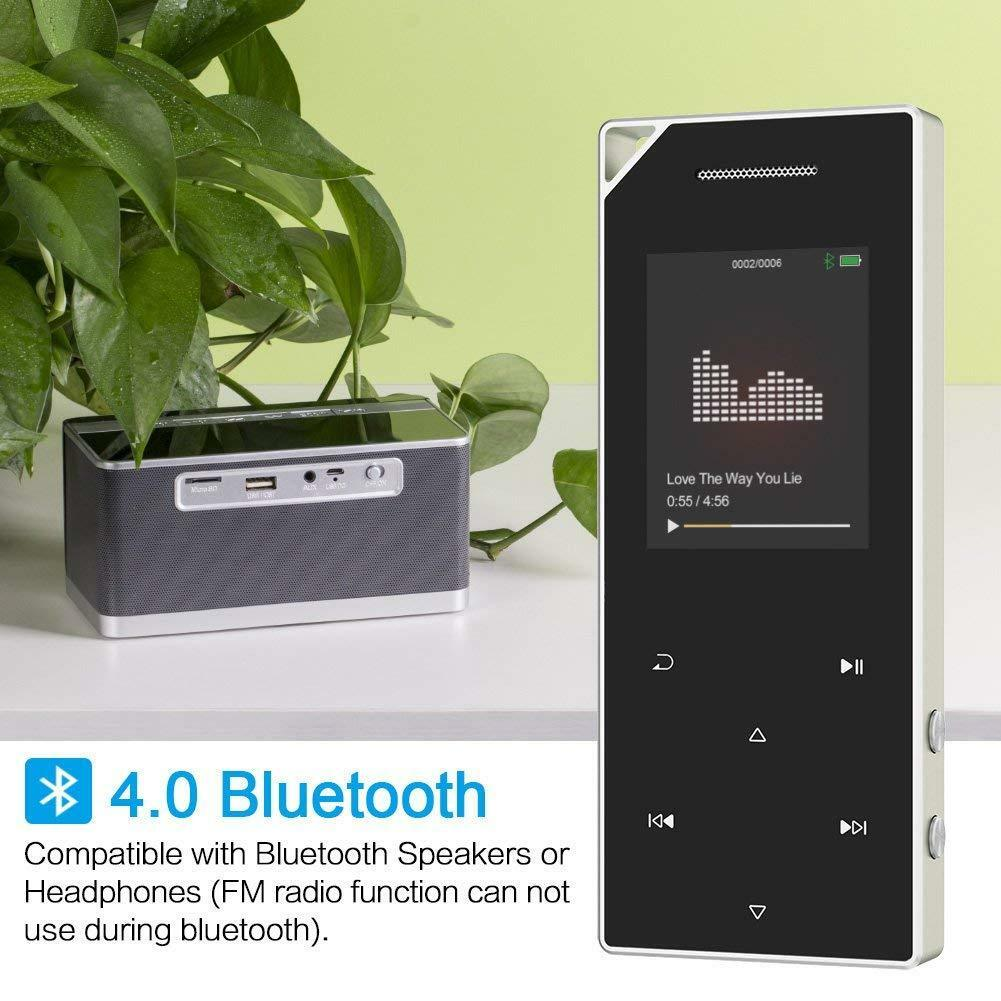 MP3 Player Lossless HIFI MP4 Music Bluetooth Player Built